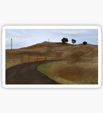 Petaluma Hills Sticker