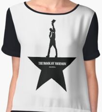 Book Of Mormon- An American Musical Women's Chiffon Top