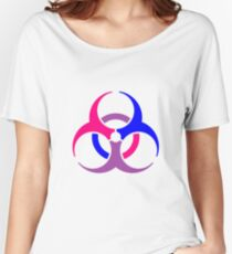 if you want to warn people about your bisexuality Women's Relaxed Fit T-Shirt