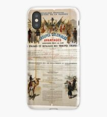 French marines recruitement poster iPhone Case/Skin
