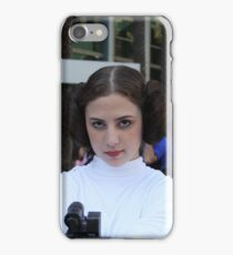 princess leia carry fisher iPhone Case/Skin