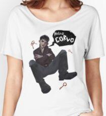 Hello, Corvo Women's Relaxed Fit T-Shirt