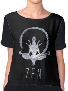 Alien Zen Chiffon Top