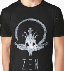 Alien Zen Graphic T-Shirt