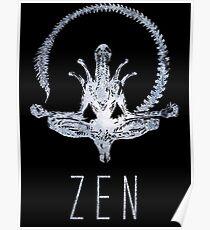 Alien Zen Poster