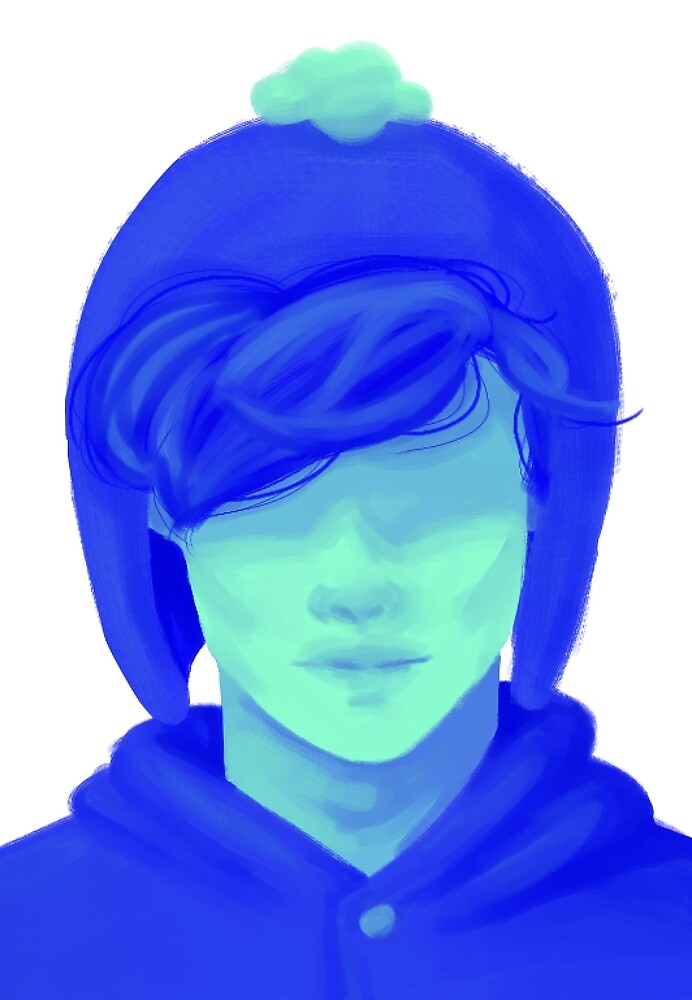 boy in blue by sleepyarts