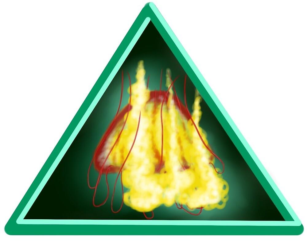 Jellyfish (triangular design) by cactusfricker