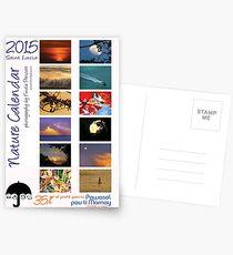2015 Caribbean Nature Calendar cover Postcards