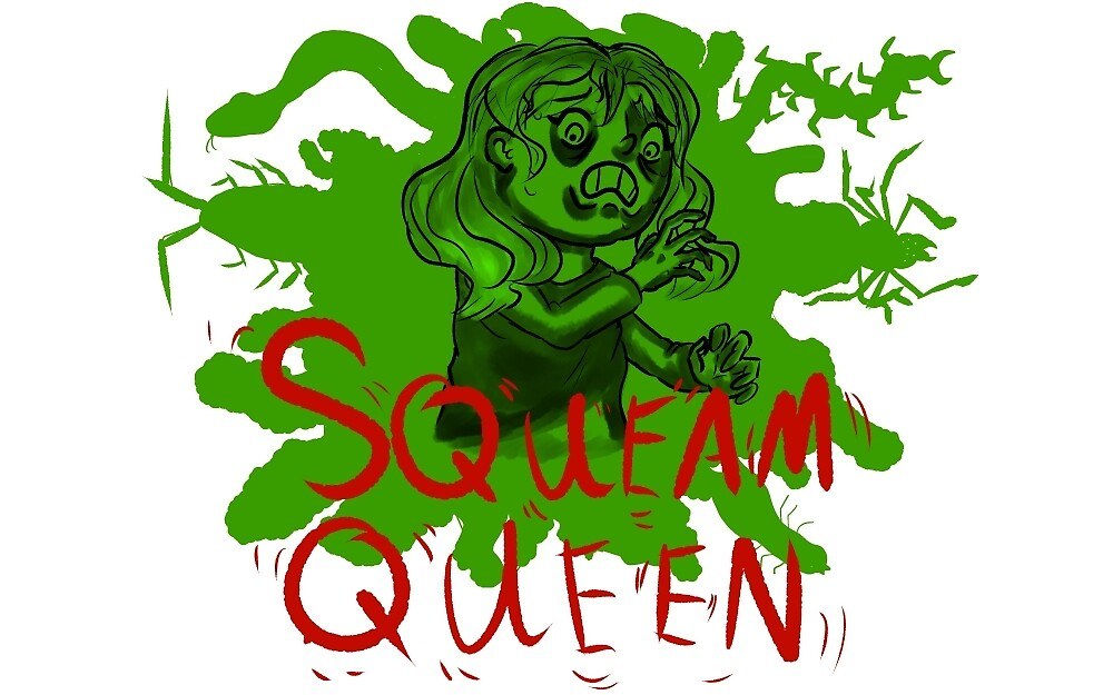 Squeam Queen- Female/long hair by KloudKat