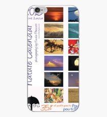 2015 Caribbean Nature Calendar cover iPhone Case