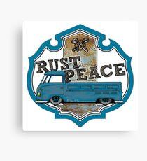 Rusty Combi Canvas Print