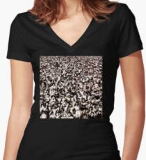 George Michael - Listen Without Prejudice Women's Fitted V-Neck T-Shirt