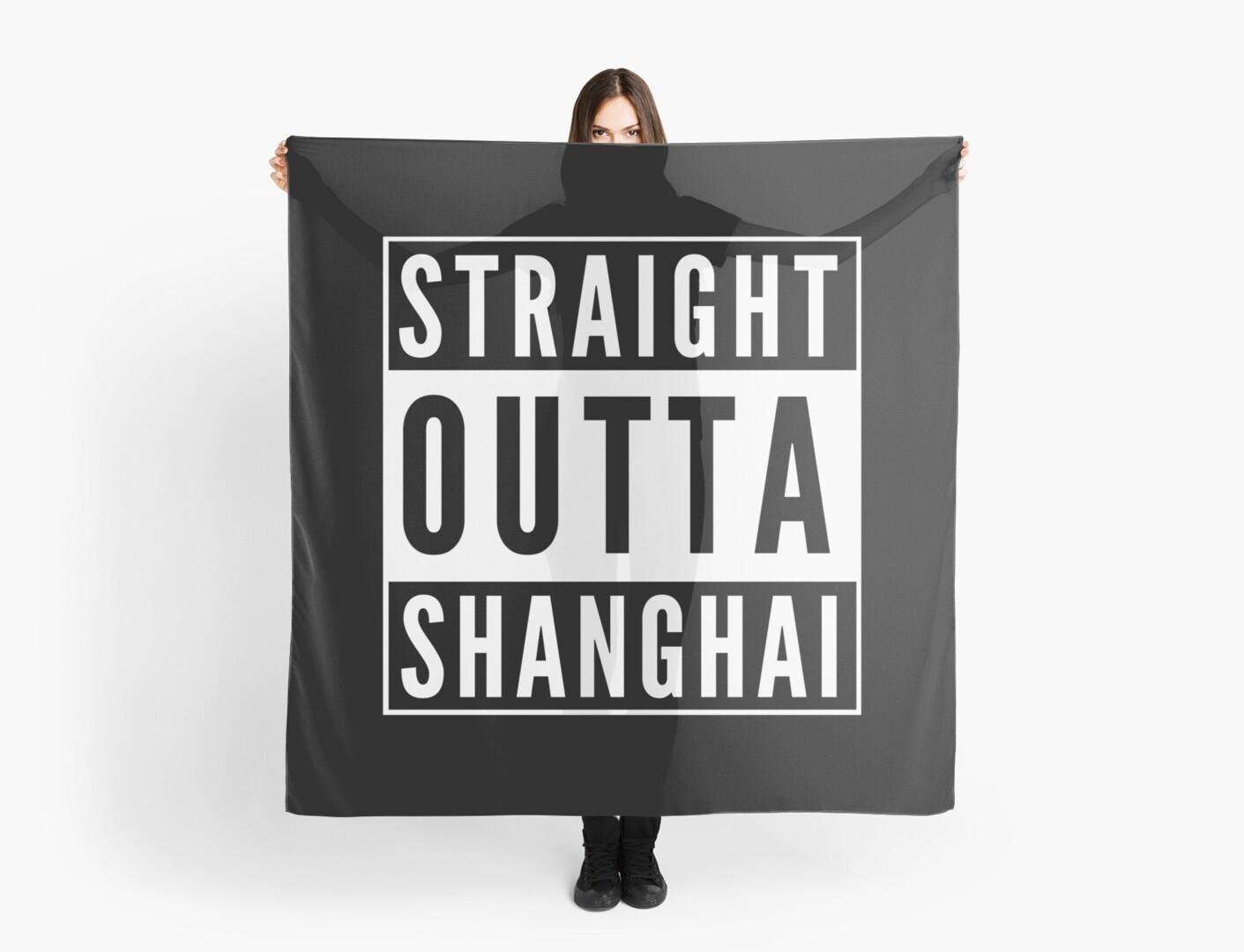 Straight Outta Shanghai by flylikeakiwinz