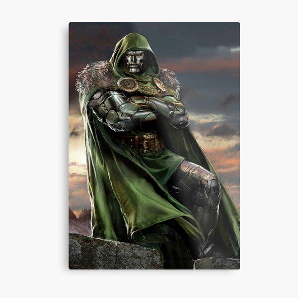 Doctor Doom Metal Print