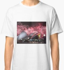 Sydney Opera House up in Lights Classic T-Shirt