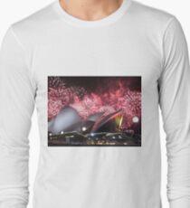 Sydney Opera House up in Lights Long Sleeve T-Shirt