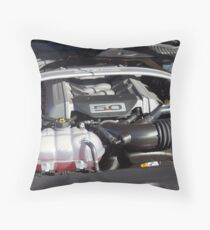 2015 Ford Mustang GT Throw Pillow