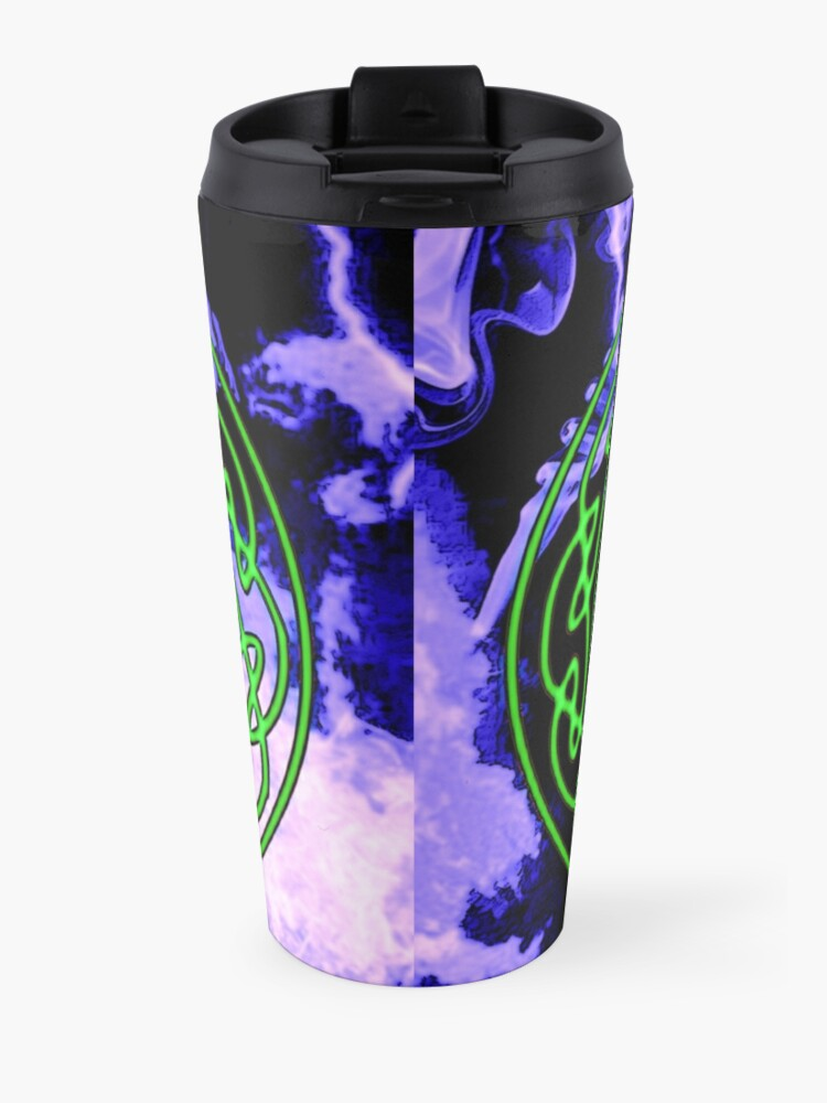 Alternate view of Celtic thunder Travel Mug