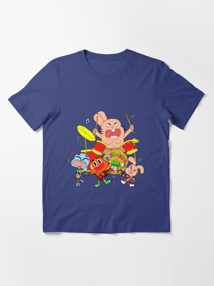 Alternate view of The Band (The Amazing World Of Gumball) Essential T-Shirt