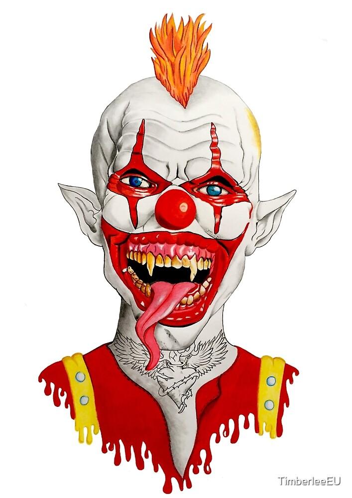 Crazy Clown by TimberleeEU