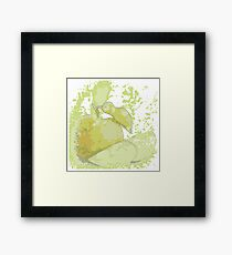 guava picture in water color theme Framed Print
