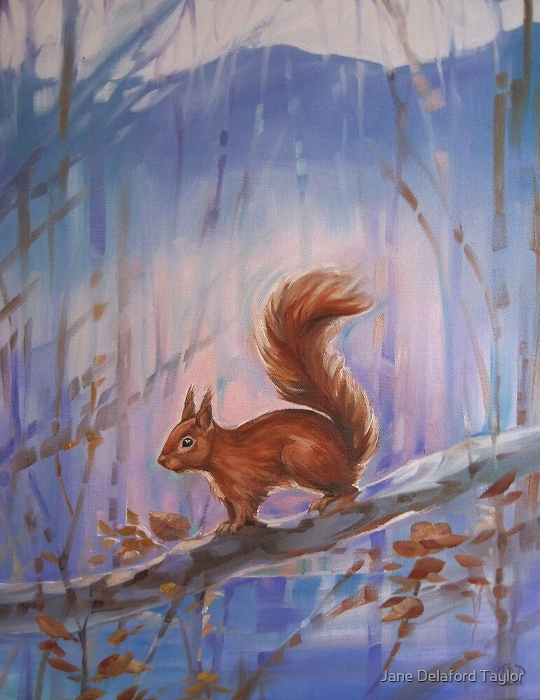 Little Red Squirrel by Jane Delaford Taylor