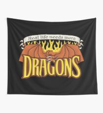 More Dragons Wall Tapestry