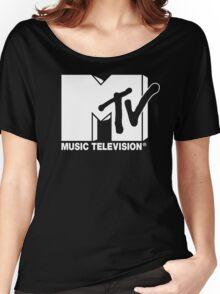 MTV Logo 3 Women's Relaxed Fit T-Shirt