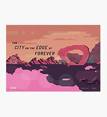 The City on the Edge of Forever Photographic Print