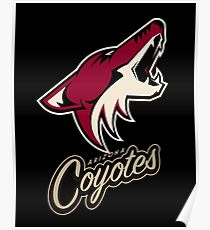 Arizona coyotes Poster