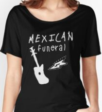 Mexican funeral Dirk Gently band shirt design  Women's Relaxed Fit T-Shirt