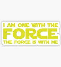 Force Chant Sticker