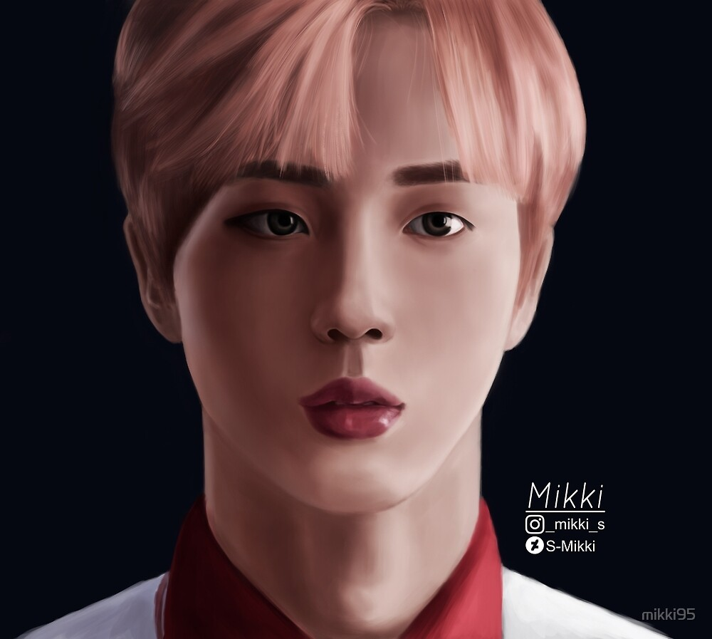 JIN BTS by mikki95