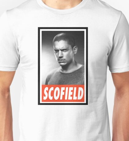 -SERIES- Michael Scofield Prison Break Unisex T-Shirt
