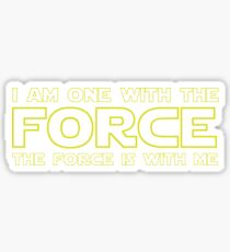 Force Chant - 2 Sticker