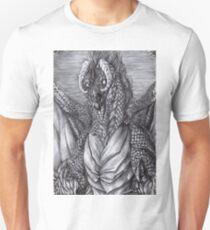 Ermes the warlock - BW Unisex T-Shirt