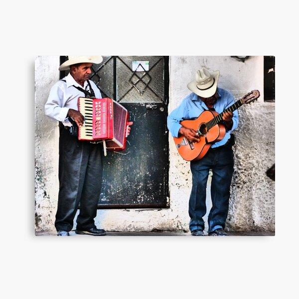 musicians - musicos Canvas Print