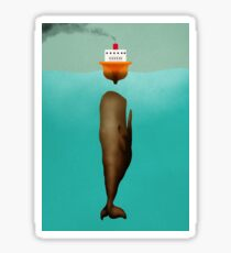 Bobbing for Boats Sticker