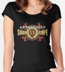 Shaw Brüder Tailliertes Rundhals-Shirt