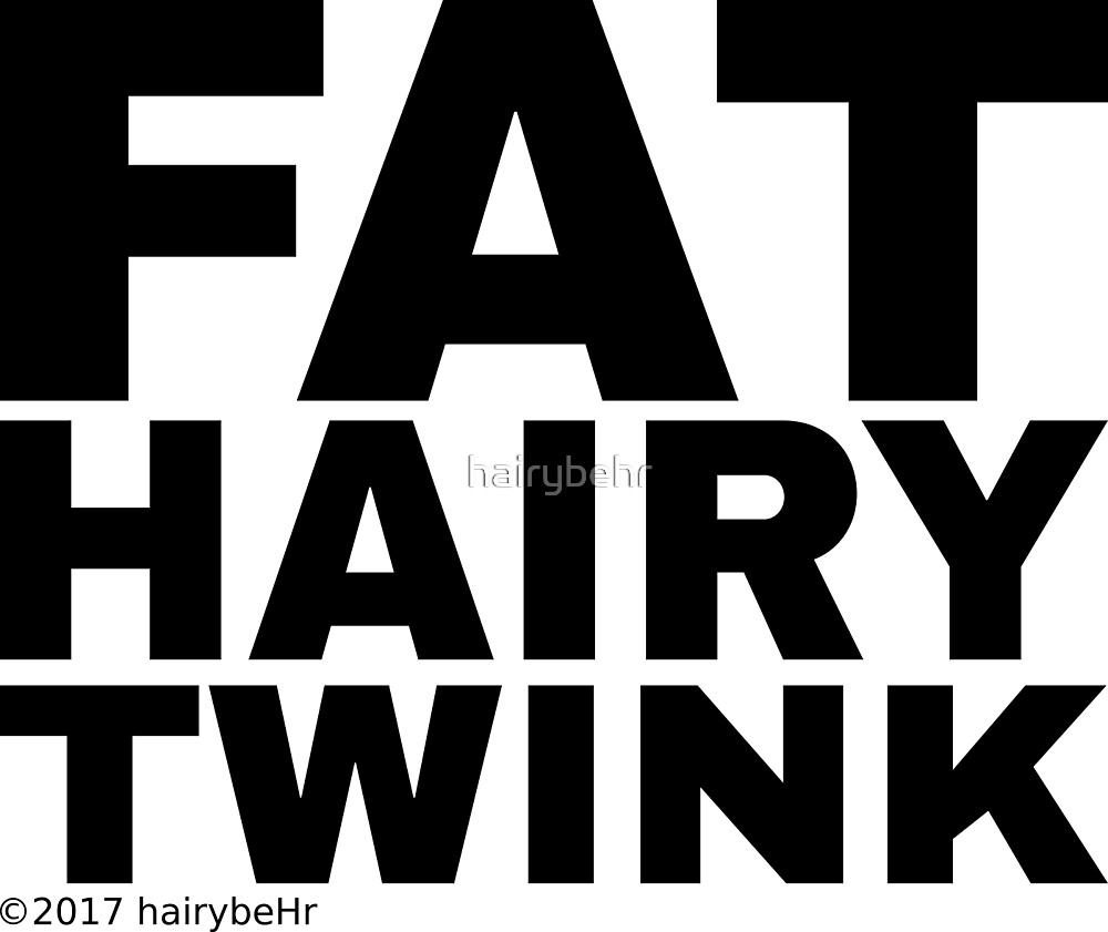 Fat Hairy Twink by hairybehr