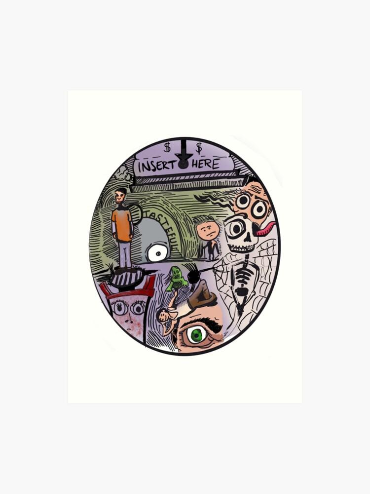 Coin Slot | Art Print