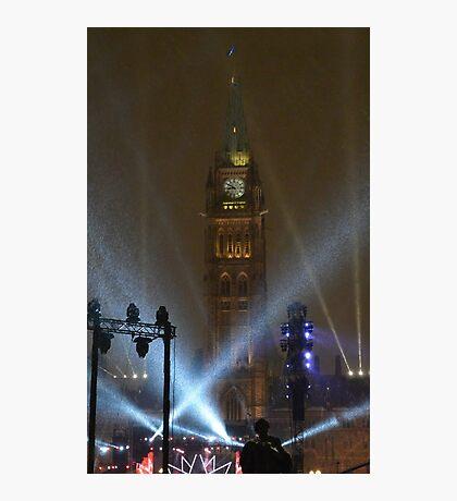 New Years Eve, Parliament Hill, Ottawa, Canada 2017 Photographic Print