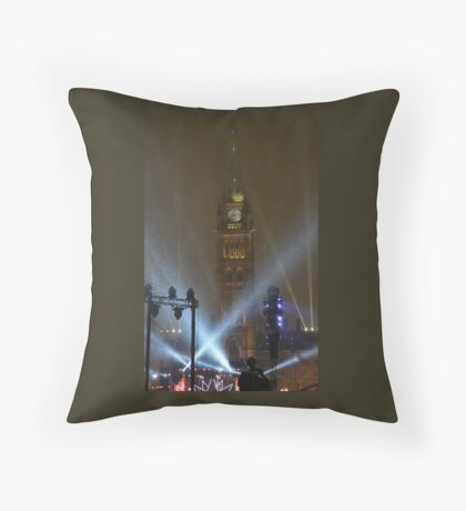 New Years Eve, Parliament Hill, Ottawa, Canada 2017 Throw Pillow