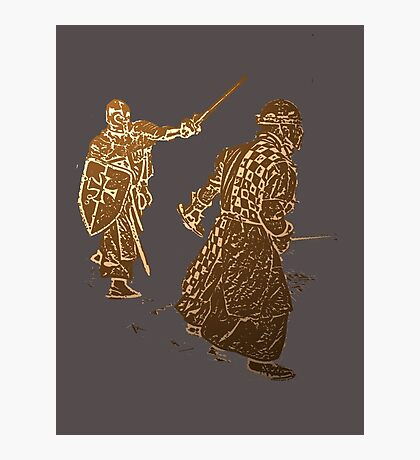 Be like a noble knight: wear a t-shirt Photographic Print