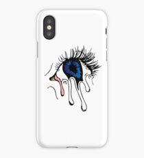 Cool Trippy Melting Eye iPhone Case/Skin