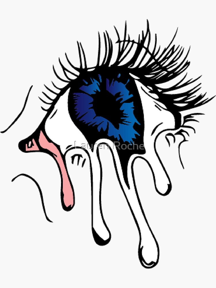 Cool Trippy Melting Eye by laurenroche00