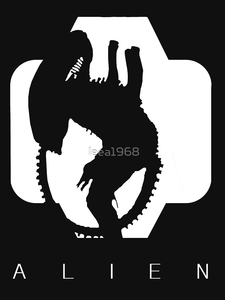 Alien Silhouette  | Unisex T-Shirt