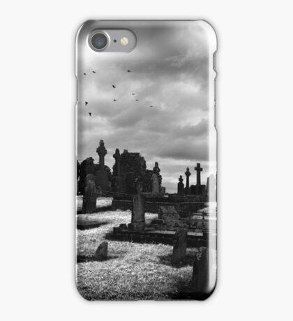 Slane Abbey Graveyard iPhone Case/Skin