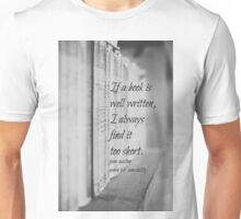 Jane Austen Book Unisex T-Shirt