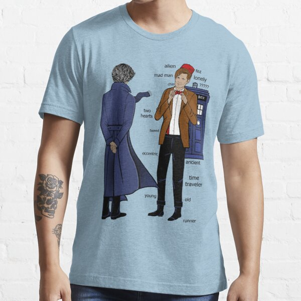 Sherlock meets the Doctor Essential T-Shirt